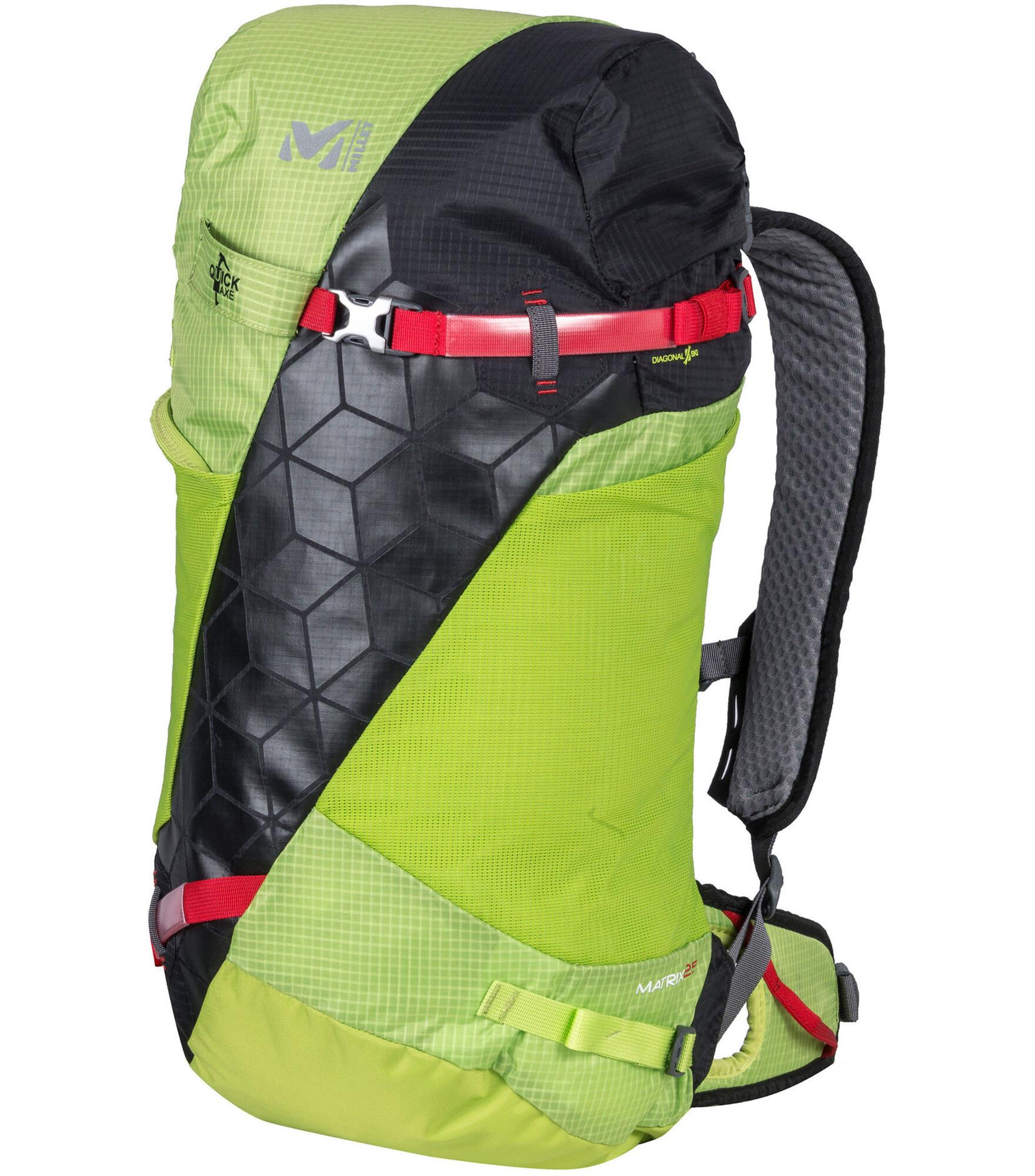 Millet Matrix 25 Backpack Green At Addnature Co Uk
